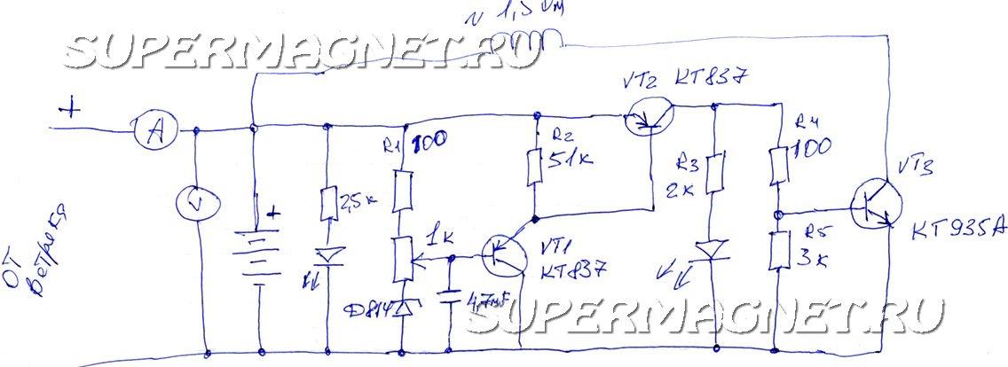 Персональный сайт - контролёры заряда для ветрогенератора и СБ