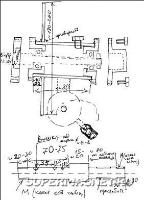 Схема ветрогенератора