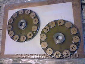 Ротор генератора с неодимовыми магнитами