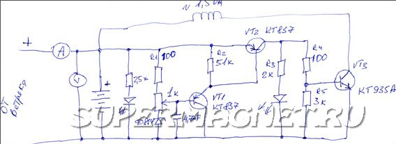Схема контроллера генератора